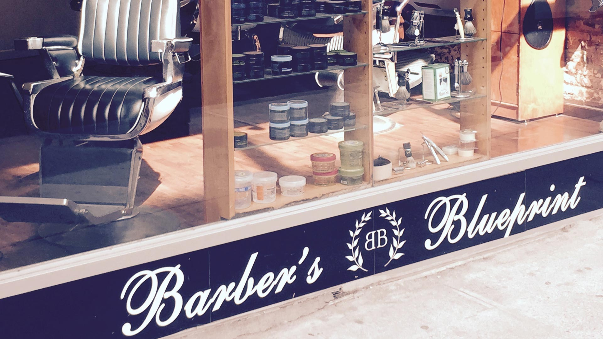Barbers blueprint front window 1920 barbers blueprint nyc 181 barbers blueprint nyc malvernweather Gallery