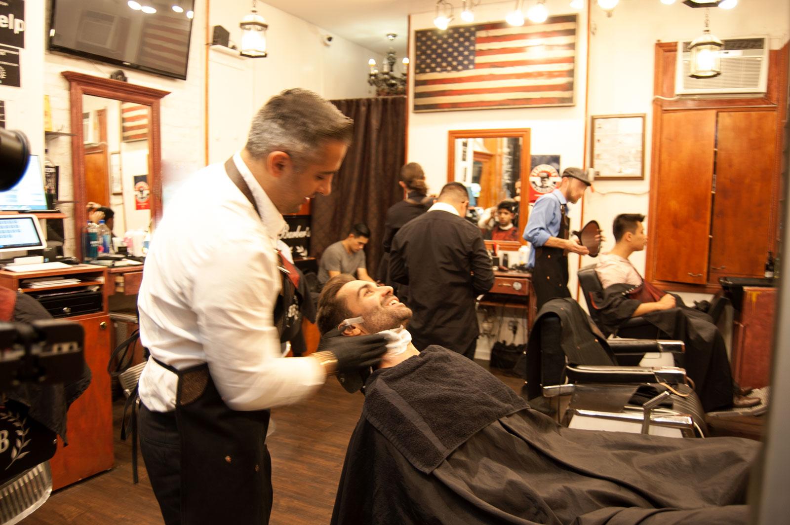 Barber S Blueprint Men S Haircuts Amp Shaves Nyc Soho